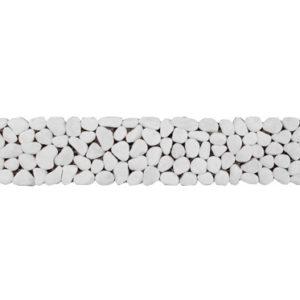 Μπορντούρα Λευκή 5x30 cm