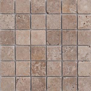 Τραβερτίνο Γαία Αντίκ 4,8x4,8 cm